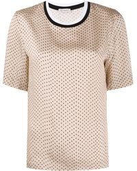Peserico - ポルカドット Tシャツ - Lyst