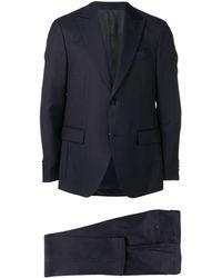 Dell'Oglio Two-piece Suit Set - Blue