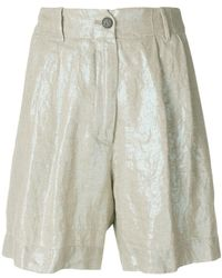 Forte Forte - Buttoned Shorts - Lyst