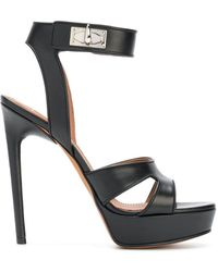 Givenchy - Shark Lock Sandals - Lyst