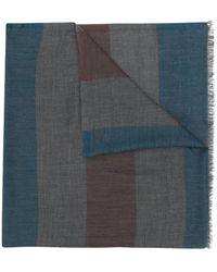Loro Piana ストライプ スカーフ - マルチカラー