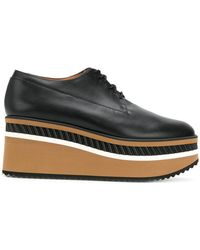 Clergerie - Lomia Wedge Derby Shoes - Lyst