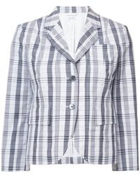 Thom Browne - Checked Jacket - Lyst