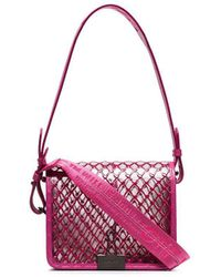 Off-White c/o Virgil Abloh Net Shoulder Bag - Pink