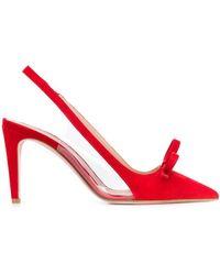 RED Valentino Sandie パンプス - レッド