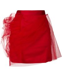 Y. Project - Tulle Layered Mini Skirt - Lyst