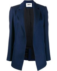 Maison Rabih Kayrouz シングルジャケット - ブルー