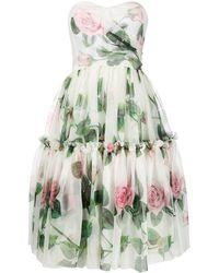 Dolce & Gabbana - フレア ドレス - Lyst