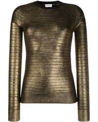 Saint Laurent メタリック セーター
