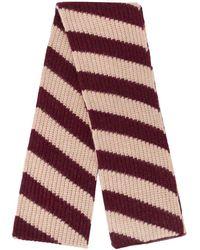 Marni ストライプ スカーフ - マルチカラー
