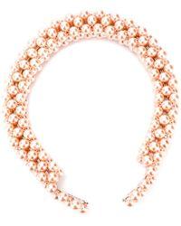 Shrimps Pearl Effect Headband - Pink