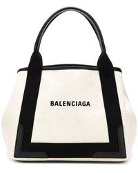 Balenciaga - ネイビー カバ トートバッグ S - Lyst