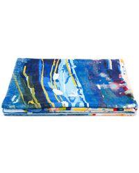 Ermenegildo Zegna - Serviette de plage à imprimé abstrait - Lyst