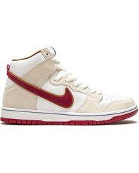 Nike Sb Dunk High スニーカー - ホワイト