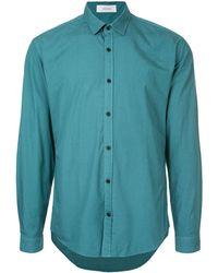 Cerruti 1881 Classic Long-sleeved Shirt - Green