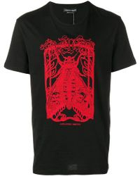 Alexander McQueen - Moth Embroidered T-shirt - Lyst