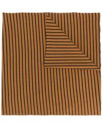 Barena - Striped Scarf - Lyst