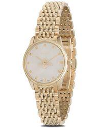 Gucci G-タイムレス 腕時計 - メタリック