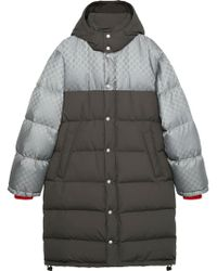 Gucci GG Jacquard Nylon Jacket - Grijs