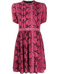 Ba&sh プリント ドレス - ピンク