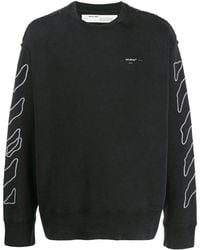 Off-White c/o Virgil Abloh Stitch Detail Sweater - Black