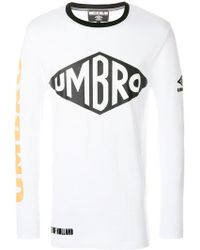 House of Holland Umbro Slogan Top - White