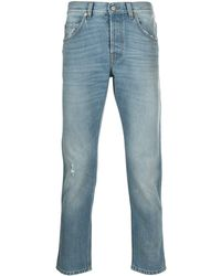 Gucci ブリーチ テーパードジーンズ - ブルー