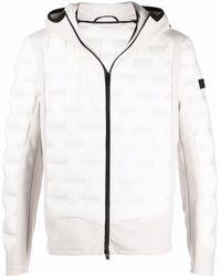 Peuterey フーデッド キルティングジャケット - ホワイト