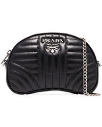 Prada - ダイアグラム ベルトバッグ - Lyst
