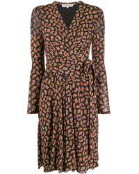 Diane von Furstenberg - ペイズリー ラップドレス - Lyst