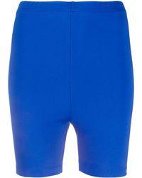 Styland Спортивные Облегающие Шорты - Синий
