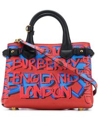 Burberry - The Small Banner Bag - Lyst