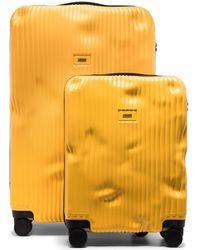 Crash Baggage Set valigie - Giallo