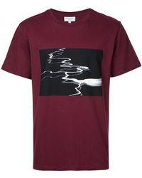 Public School T-shirt imprimé - Rouge