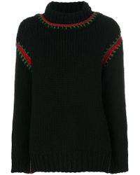 Moncler Grenoble - Embroidered Roll-neck Sweater - Lyst