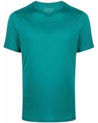Patagonia Capilene Cool Tシャツ - グリーン