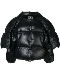 Hache - Cropped Puffer Jacket - Lyst