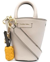 See By Chloé Small Leather Bucket Bag - Multicolour