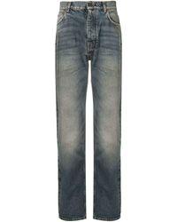 Kent & Curwen Halbhohe Jeans mit geradem Bein - Blau