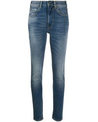 Ba&sh Acid Wash Jeans - Blue