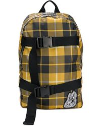 McQ - Plaid Logo Backpack - Lyst