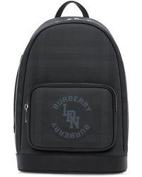 Burberry Рюкзак С Логотипом - Черный
