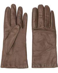 P.A.R.O.S.H. Classic Gloves - Brown