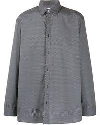 Maison Margiela Рубашка С Принтом Пейсли - Черный