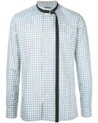 Raf Simons - Checked Shirt - Lyst