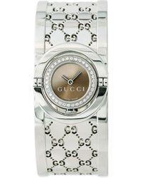 Gucci Montre Twirl 16 mm pre-owned - Marron