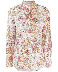 Etro - Paisley Printed Shirt - Lyst