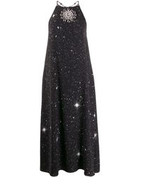 Christopher Kane ホルターネックドレス - ブラック