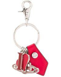 Vivienne Westwood I Love Orb Keyring - Red