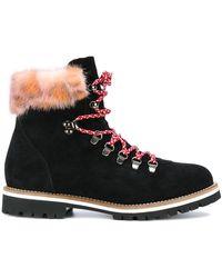 Mr & Mrs Italy Desert Boots - Black